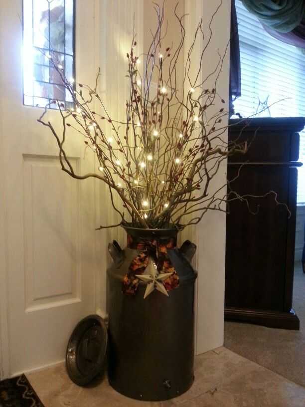 Best 20 milk can decor ideas on pinterest farmhouse - Vase de decoration interieur ...