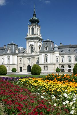 Festetics Palace is now a Helikon Castle Museum near Lake Balaton ~ Keszthely, Hungary