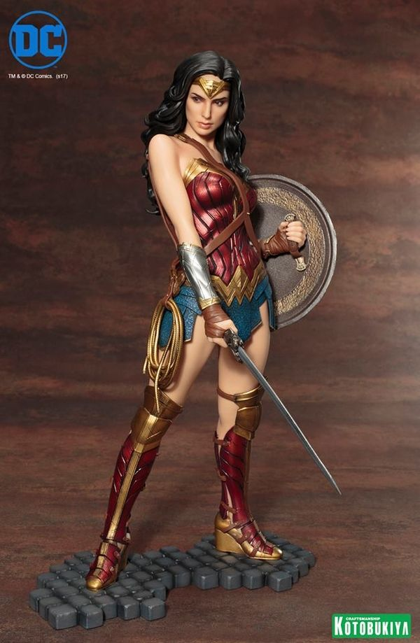 Wonder Woman Movie Wonder Woman ARTFX Statue From Kotobukiya