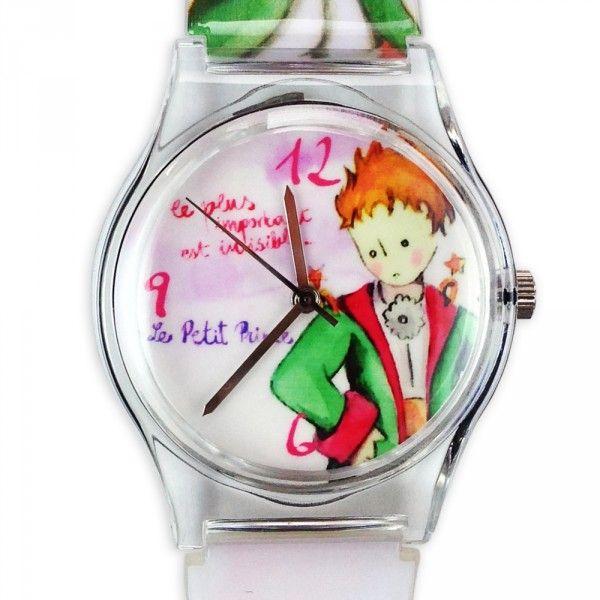 Montre Aquarelle Le Petit Prince en habit