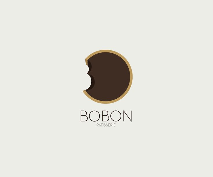 Bobon French Pastry Visual Identity Logo