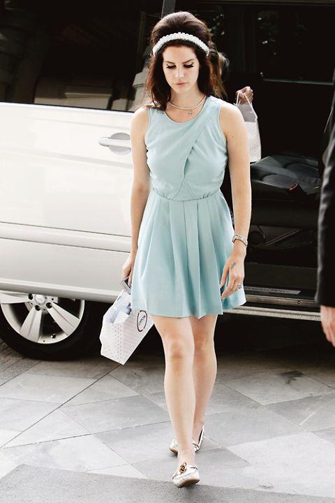 Lana Del Rey cute retro street style | Dresses | Pinterest