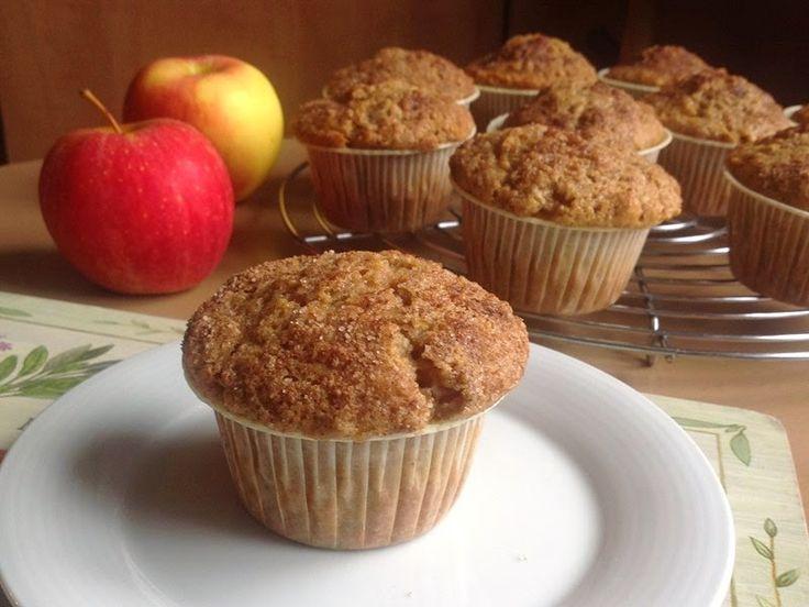 VÍKENDOVÉ PEČENÍ: Jablečné muffiny se skořicí