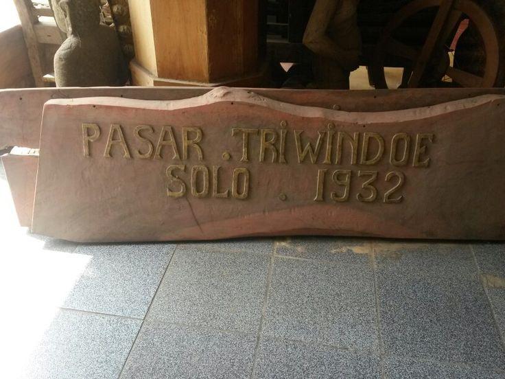 Pasar triwindoe solo Jawa tengah  Indonesia