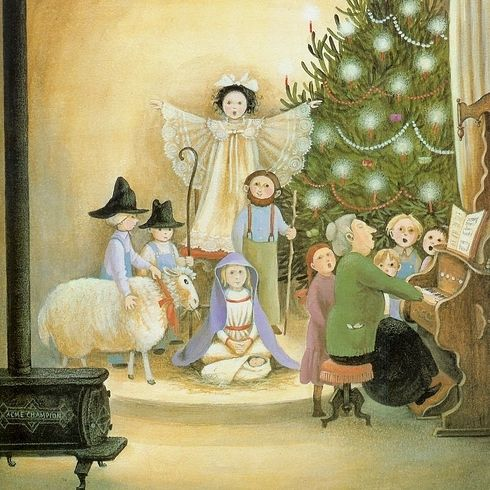 The Year of the Perfect Christmas Tree by Gloria Houston, illustrated by Barbara Cooney