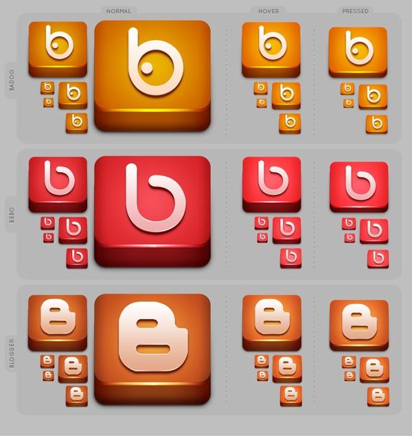 Lifetime #SocialMedia #Icon set
