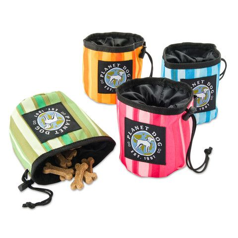 On The Go Snack Sack Dog Treat Bag | PupLife Dog Supplies