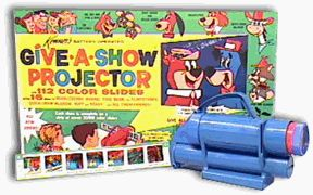 Give a show projector 1960s - best in the darkness of your bedroom closet.