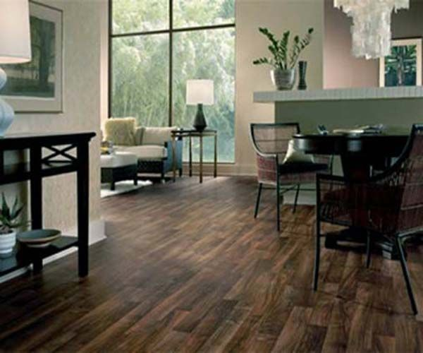 Supreme Click Classic Coffee Oak Wood Laminate Flooring