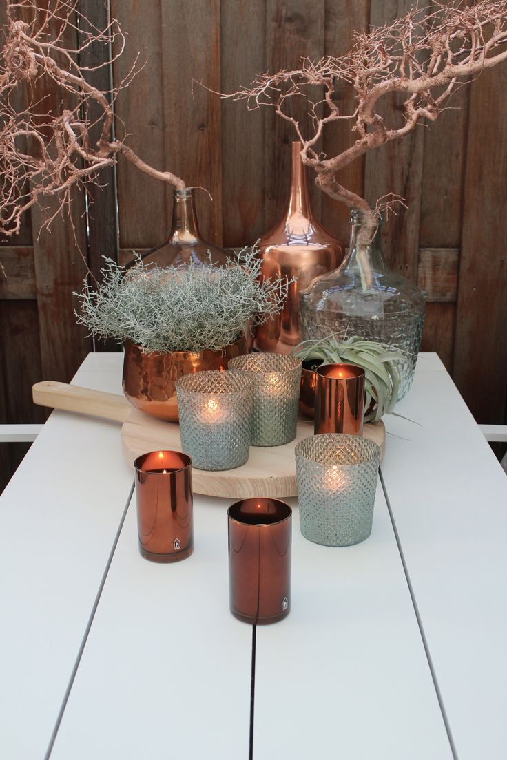 Decoring with copper. More similar images at http://www.brabbu.com/en/inspiration-and-ideas/ #CopperLighting #CopperDesign #CopperDecoration