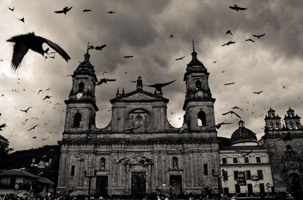 Bolivar Square Bogota-Colombia