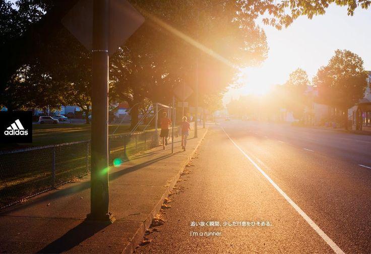 追い抜く瞬間、少しだけ息をひそめる。 I'm a runner. http://t.co/vWj9Wg2Yeb