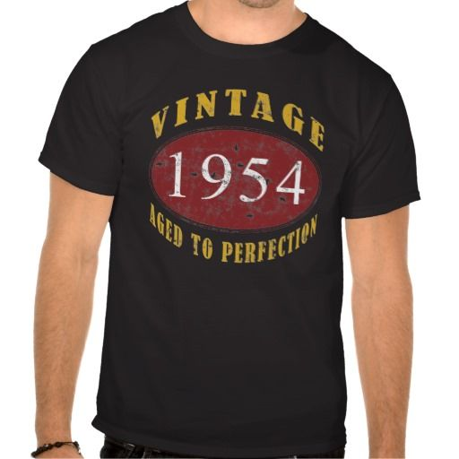 >>>Best          Vintage 1954 Birthday Tee Shirt           Vintage 1954 Birthday Tee Shirt lowest price for you. In addition you can compare price with another store and read helpful reviews. BuyReview          Vintage 1954 Birthday Tee Shirt Review from Associated Store with this Deal...Cleck Hot Deals >>> http://www.zazzle.com/vintage_1954_birthday_tee_shirt-235607339585460338?rf=238627982471231924&zbar=1&tc=terrest