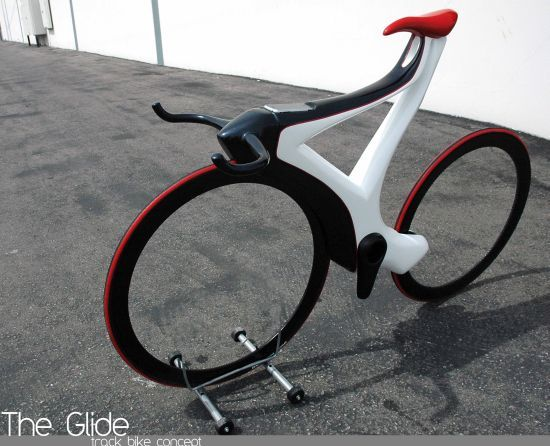 the glide 03 Sure looks strange!