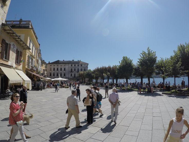 The quaint town of Orta San Giulio on Lake Orta.