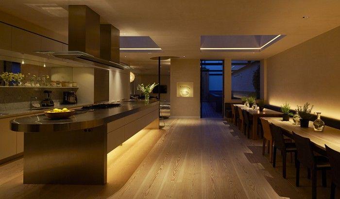 Contemporary kitchen lighting 2