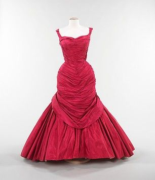 Iconic 'Tree' Evening Dress by Charles James, 1955