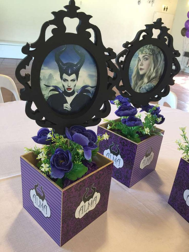 MALEFICENT MOVIE Birthday Party Ideas | Photo 1 of 24 | Catch My Party