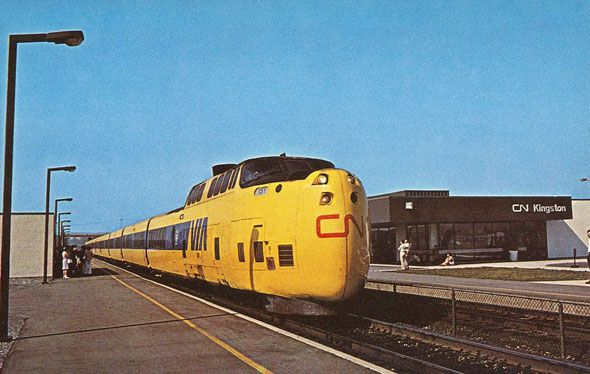 CN Turbo Train (1968).