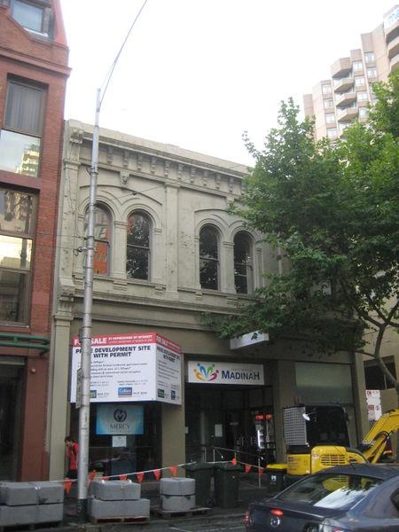 Former Burton Livery and Bait Stables - 40 La Trobe Street Melbourne 2013