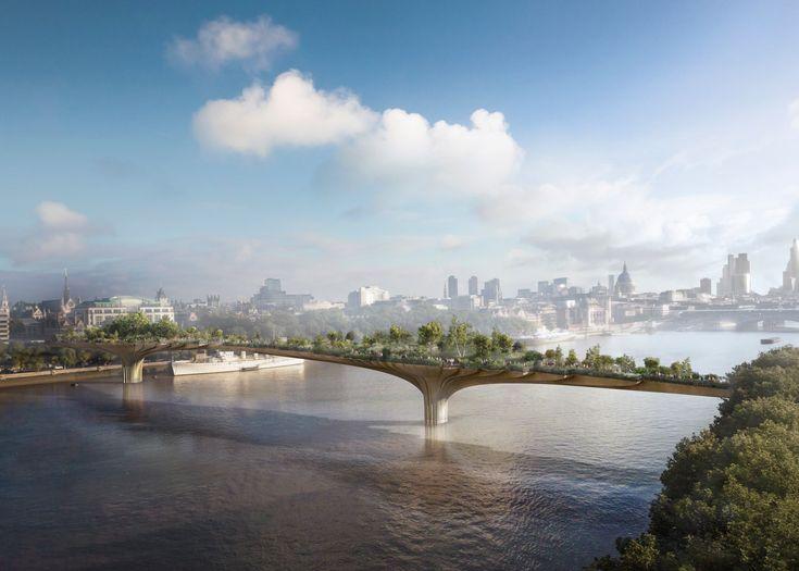 Garden Bridge moves to construction despite controversy