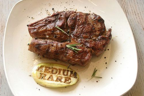 The Art of Cooking Steak. Tips on cooking grass fed steak perfection. Paleo Lifestyle Diet.