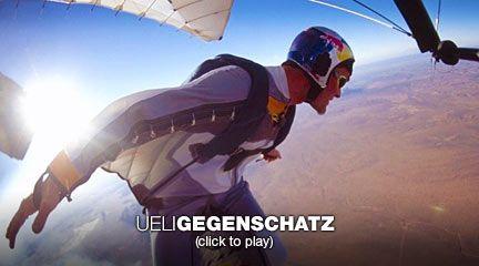 Ueli Gegenschatz soars in a wingsuit | Video on TED.com