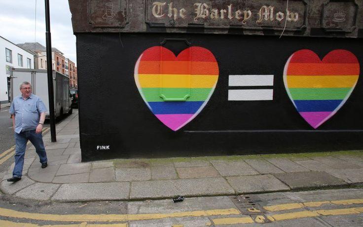 Irlanda diz 'sim' para o casamento gay