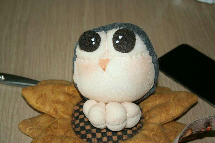 Little owl stuffed