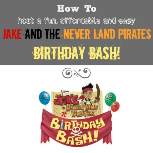 14 Best Images About Jake And The Neverland Pirates Party