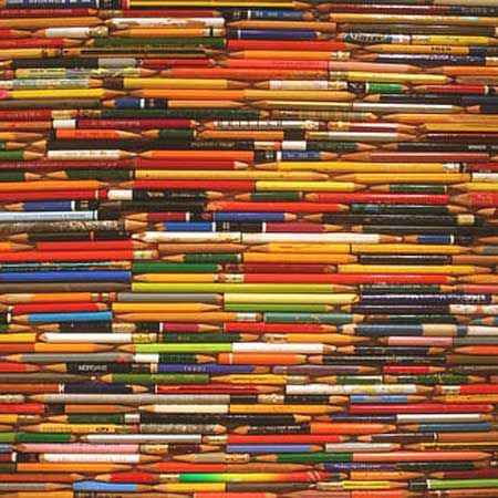 Love this collection of colorful pencils by one of my design idols, Alan Fletcher.