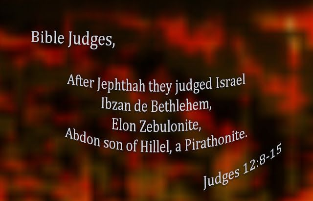 """Easy understanding of the Holy Bible.: """"Judges VI"""""""