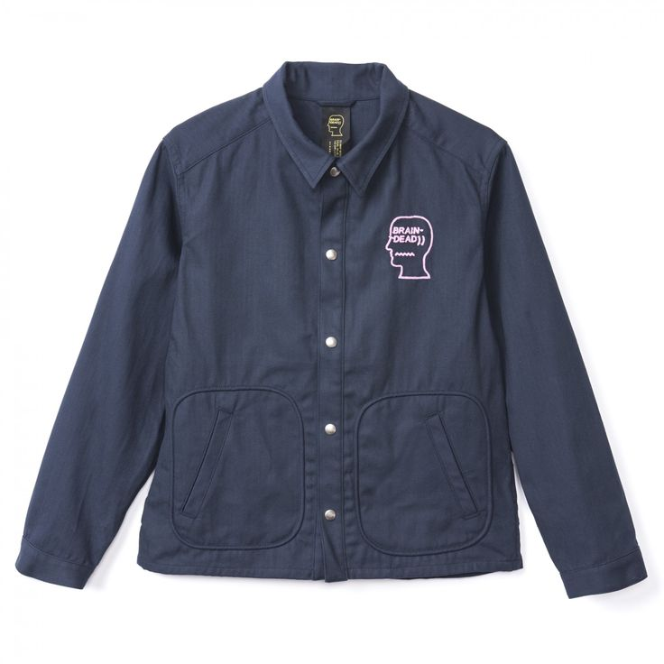 Braindead Destroyer Club Jacket (Navy)