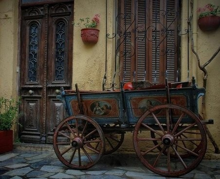 """""""Old times"""" Chania, Crete"""