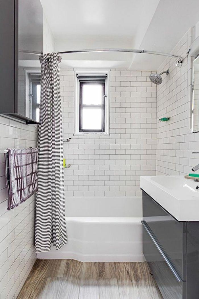 1001 id es pour une salle de bain 6m2 comment r aliser - Ikea salle de bain petit espace ...