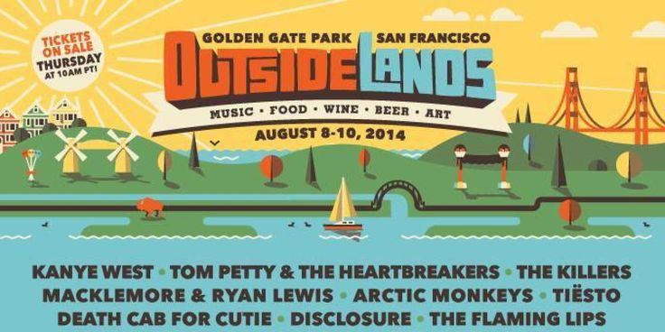 Outside Lands 2014 Lineup Includes Kanye West, Tom Petty, Macklemore & Ryan Lewis | Huffington Post