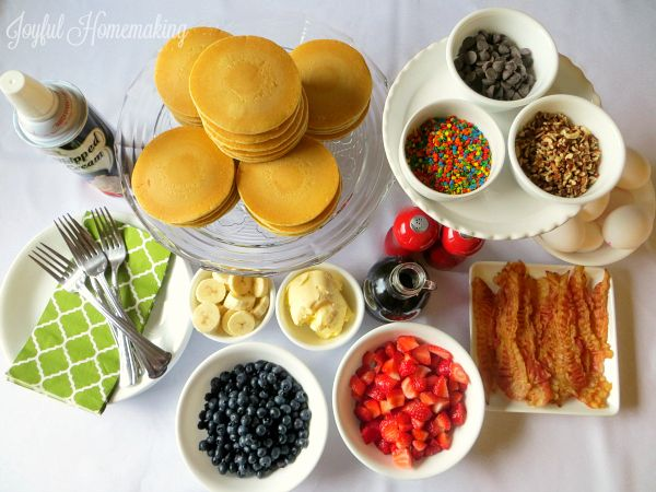 We love breakfast for dinner at our house! I enjoy it because if I didn't thaw something for dinner, or I need a super quick meal to put together, pancakes or eggs, or even cereal and fruit it is! On Friday nights, I like to do something special for dinner, whether it's something fancy, or …