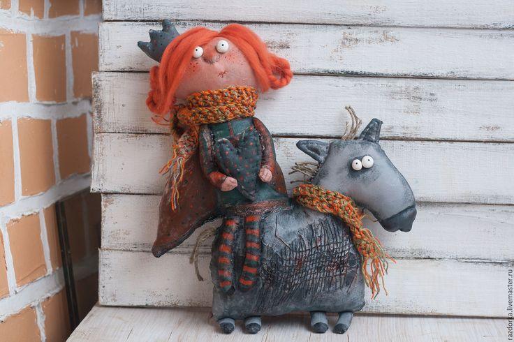 Купить ПрЫнцесса на коне - серый, принцесса, конь, смешной подарок, подарок на день рождения