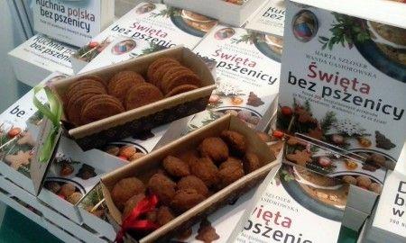 A tak słodki poczęstunek dla naszych gości: pierniczki gryczano-jaglane oraz ciastka kasztanowe.