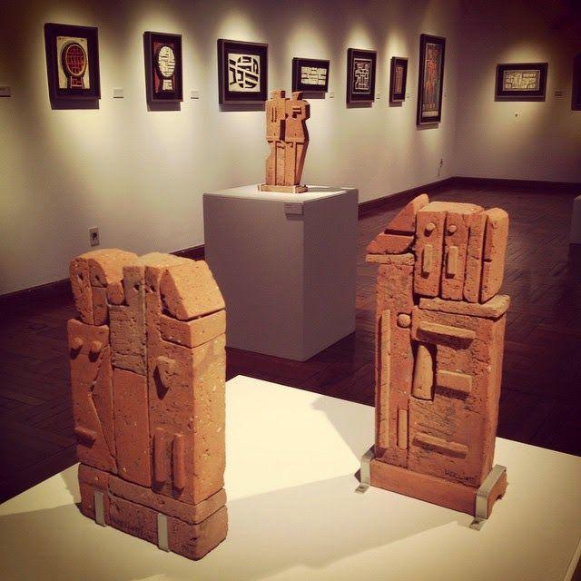Walter Deliotti (Montevideo, Uruguay, 1925): esculturas en Ladrillo. MNAV de Montevideo, 2014.