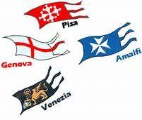i 4 stemmi delle repubbliche marinare