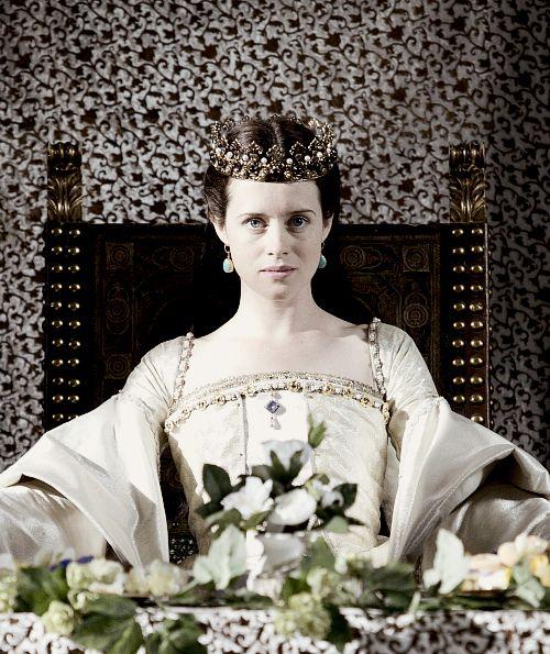 Claire Foy as ANNE BOLEYN - WOLF HALL
