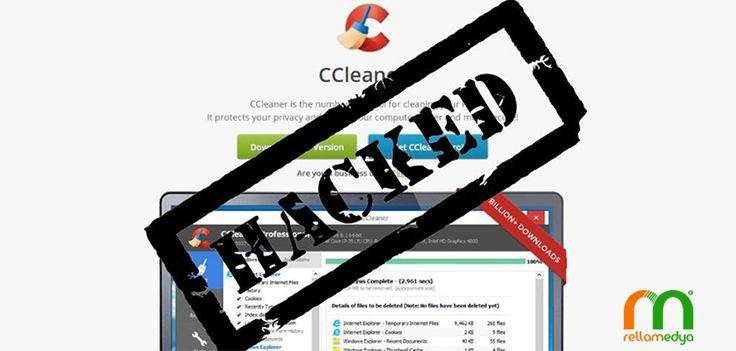 CCleaner yazılımında arka kapı tehlikesi Devamı; http://www.rellablog.com/ccleaner-yaziliminda-arka-kapi-tehlikesi/ #Rellamedya #Teknoloji #CCleane