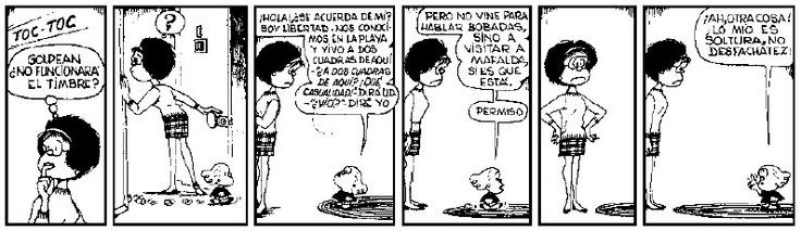 """""""Lo mío es soltura, no desfachatez"""", #Libertad #MafaldaTuitera"""