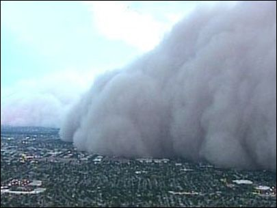 Massive dust storm strikes Phoenix - and our kids live there!
