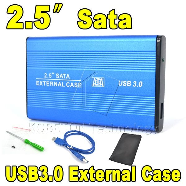 "2015 Hot Portable USB 3.0 to SATA 2.5"" HDD External Enclosure USB3.0 Hard Disk Drive Case Box for PC Computer Laptop Notebook 