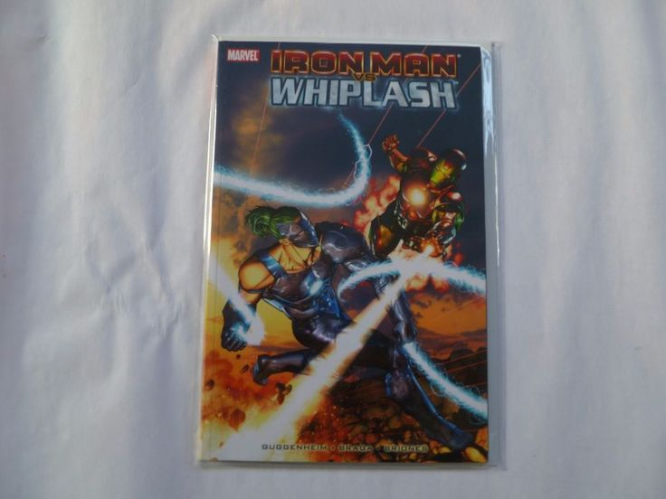 Iron Man vs. Whiplash #1 (Jan 2010, Marvel) Graphic Novel Publisher Marvel