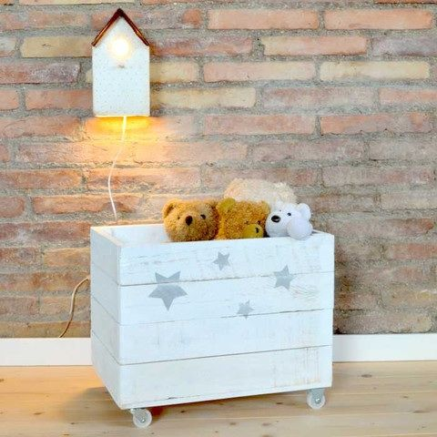Las 25 mejores ideas sobre cajas para guardar juguetes en - Ideas almacenaje juguetes ...