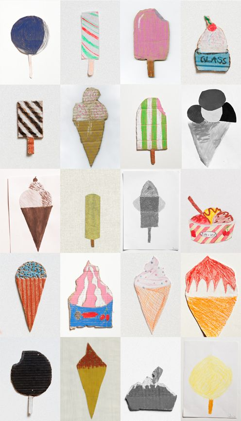 Ice creams / Fine Little Gallery