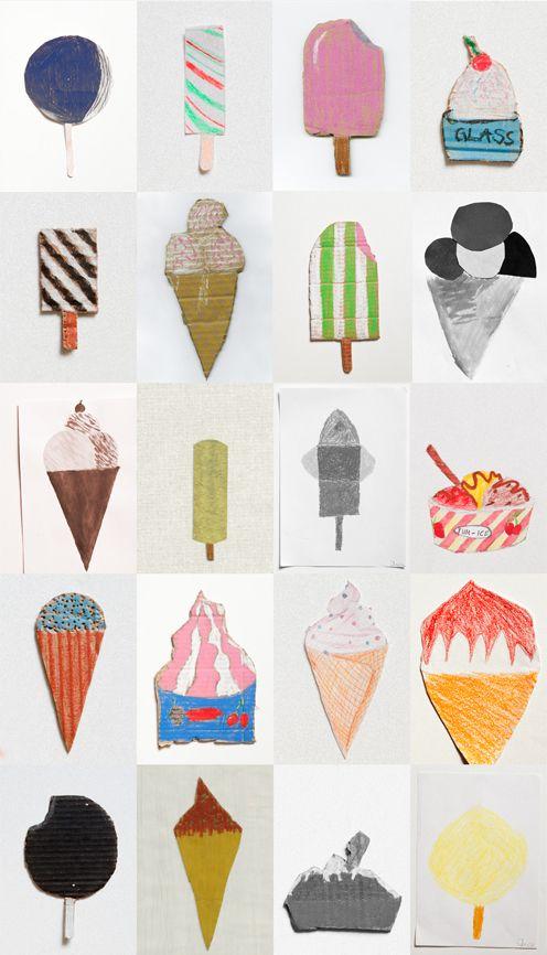 Ice creams / Fine Little Gallery